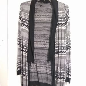 Maurices tribal pattern cardigan